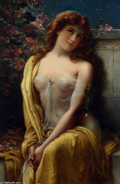 Starlight by Emile Vernon (1872-1920, France) | Museum Quality Reproductions | WahooArt.com