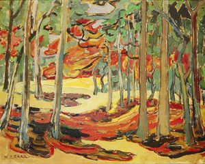 Emily Carr - Autumn Woods
