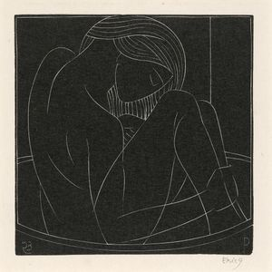 Eric Gill - Girl In The Bath
