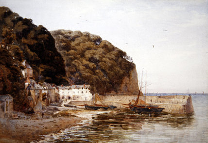 Order Painting Copy : Red Lion Hotel by Ernest Arthur Rowe (1863-1922, United Kingdom) | WahooArt.com