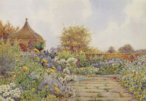 Ernest Arthur Rowe - The Gardens At Chequers Court