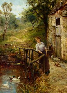 Ernest Charles Walbourn - Enjoying The Afternoon