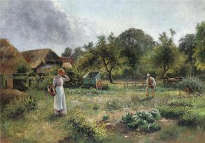 Ernest Charles Walbourn - Girl And A Farmer