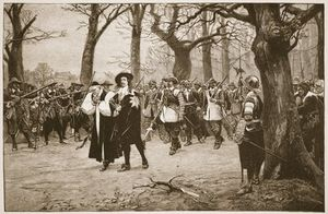 Ernest Crofts - Charles I On His Way To Execution