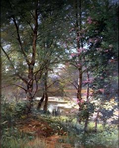 Ernest Parton - In A Fairy Woodland -