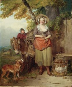 Francis Wheatley - The Return From Market