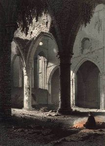 François Stroobant - Ruins Of The Abbey Of Villers