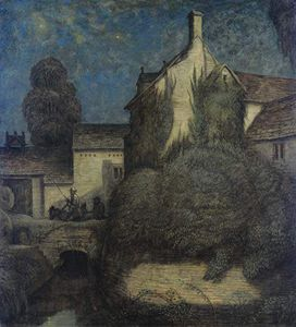 Frederick Cayley Robinson - At Night Time