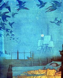Frederick Cayley Robinson - The Blue Bird Dreamships