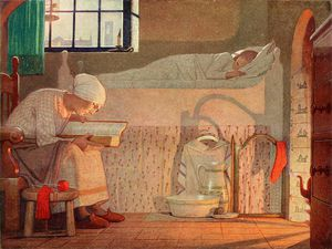 Frederick Cayley Robinson - The Word