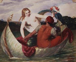 Frederick Richard Pickersgill - The Pearl Boat