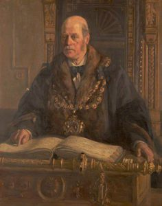 Frederick William Jackson - Alfred Waddington, Mayor Of Oldham