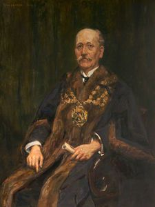 Frederick William Jackson - Herbert Wilde, Mayor Of Oldham
