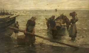 Frederick William Jackson - Returning With The Catch