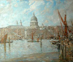 Frederick William Jackson - St Paul's, London