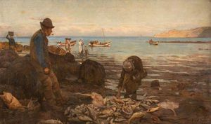 Frederick William Jackson - The Harvest Of The Sea