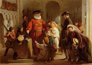 George Bernard Oneill - Children In The Tower Of London