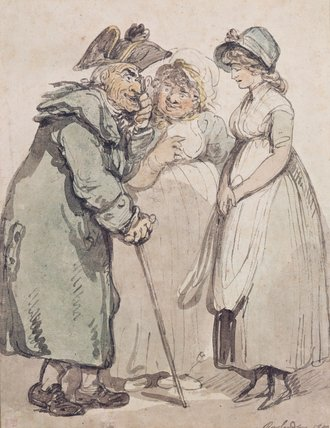 Order Paintings Reproductions | The Introduction by George Derville Rowlandson (1861-1928, United Kingdom) | WahooArt.com