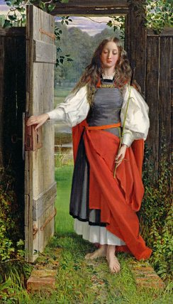 Faith by George Dunlop Leslie (1835-1921, United Kingdom)