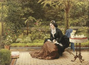 George Dunlop Leslie - Five O'clock