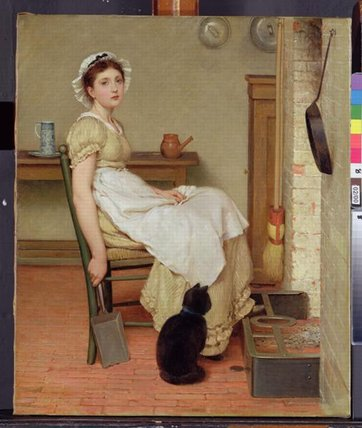 Her First Place by George Dunlop Leslie (1835-1921, United Kingdom) | Painting Copy | WahooArt.com
