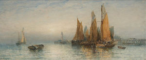 George Gregory - A Quiet Harbour