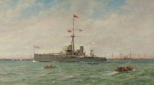 George Gregory - The Royal Naval Review