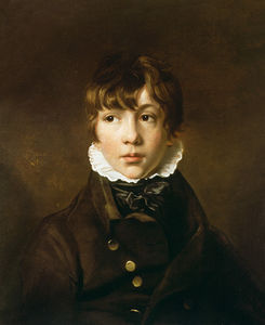 George Hayter - Portrait Of A Boy