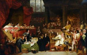 George Hayter - The Trial Of William Lord Russell