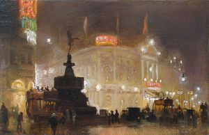George Hyde Pownall - Piccadilly Circus -