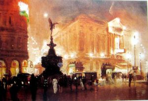 George Hyde Pownall - Piccadilly Circus