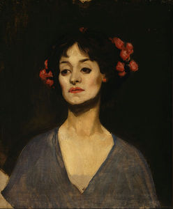 George Lambert - Portrait Of A Lady (the Dancer)