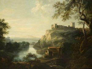 George Lambert - Richmond Castle, Yorkshire