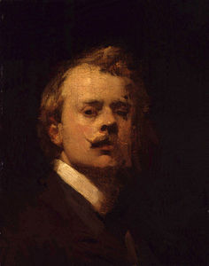George Lambert - Self-portrait -