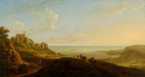 George Lambert - View Of Dover Castle