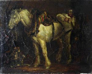 George Morland - The Carthorse