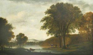 George Smith - Swanbourne Lake, Arundel Park