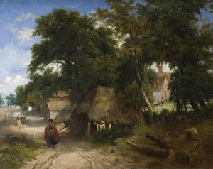 George Vincent - An English Farmstead