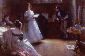 Georges Sheridan Knowles - A Love Song -
