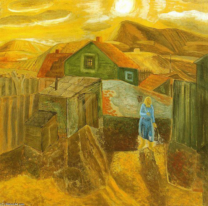In The Morning by Geza Bene (1900-1960, Slovakia) | Famous Paintings Reproductions | WahooArt.com