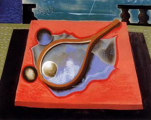 Geza Bene - Still Life With Tennis Racket