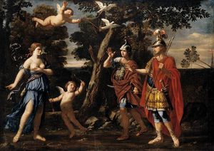 Giacinto Gimignani - Venus Appearing To Aeneas And Achates