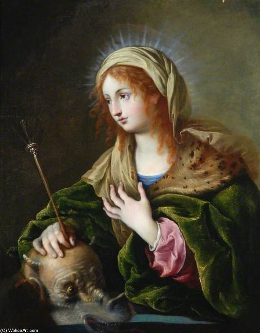 St Martha by Giambettino Cignaroli (1706-1770, Italy)