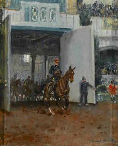 Gilbert Holiday - The Start Of The Royal Tournament At Olympia