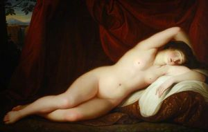 Giovanni Battista Cipriani - Sleeping Female Nude