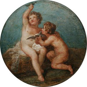 Giovanni Battista Cipriani - Two Putti