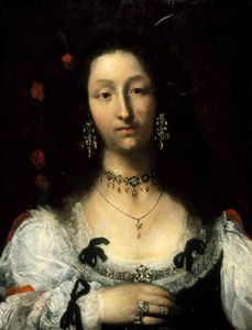 Girolamo Forabosco - Portrait Of A Lady