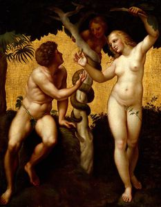 Giuseppe Cades - Adam And Eve