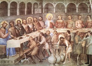 Giusto De' Menabuoi - Marriage At Cana