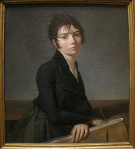 Guillaume Lethière - Girl With Portfolio